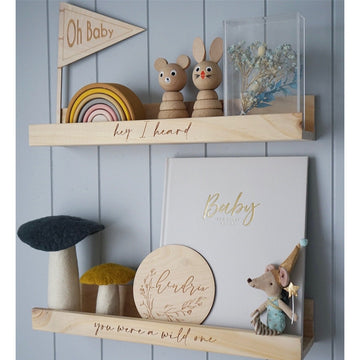 Wooden Custom Shelves