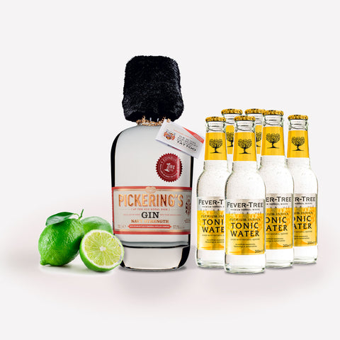 Navy Strength Gin and Tonic Survival Kit