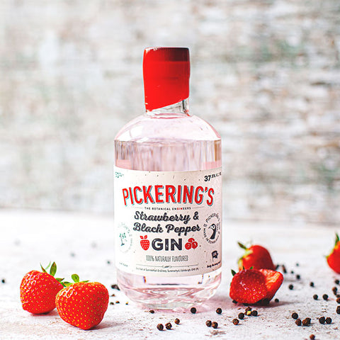 Pickering's Strawberry & Black Pepper Gin 50cl