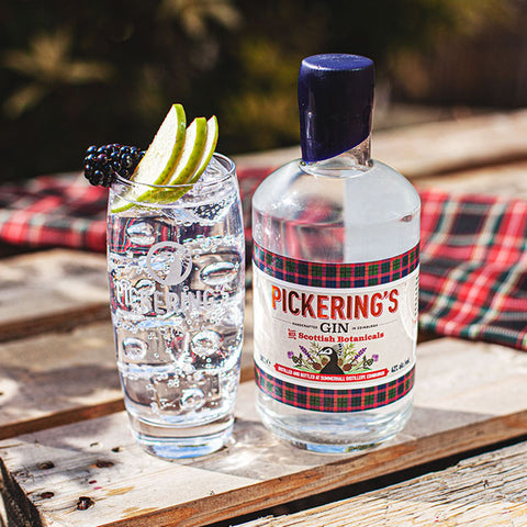 Pickerings Gin with Scottish Botanicals