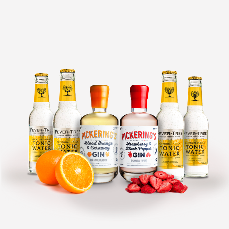 Summer Fruits Gin Kit