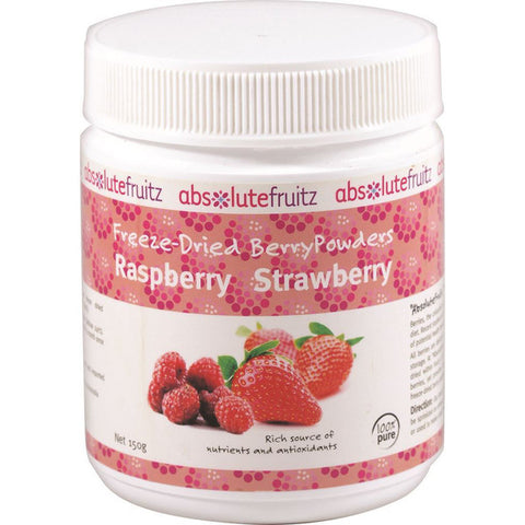 Absolute Fruitz Freeze - Dried Berry Powder (Raspberry Strawberry) 150g