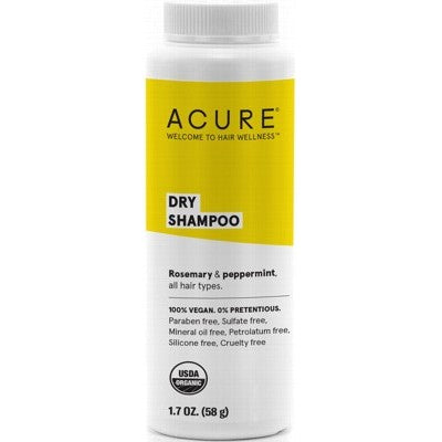 Acure Dry Shampoo (absorbs oil & removes grime without water) 58g