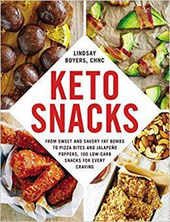 Book Title: KETO Snacks - by Lindsay Boyers