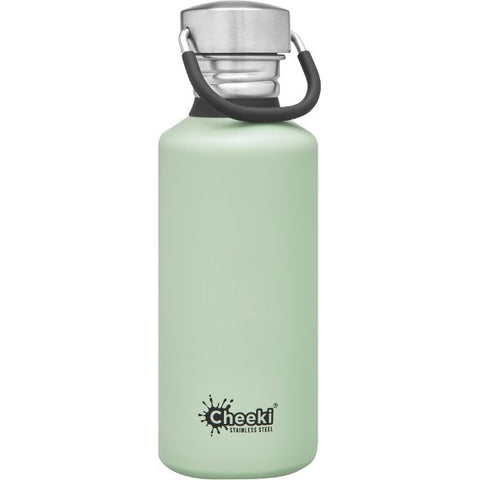 CHEEKI Reusable Stainless Steel Bottles - Pistachio - 500ml / 750ml