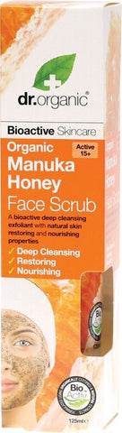Dr Organic Organic Manuka Honey Face Scrub 125ml