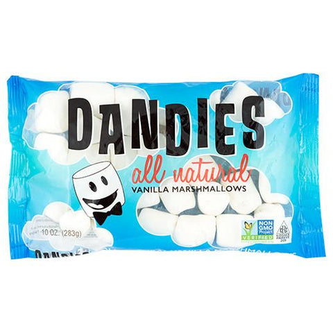 DANDIES All Natural Vanilla Marshmallows 283g - 100% Vegan (Gelatin free)