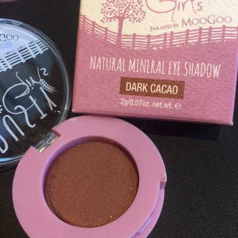 Dusty Girls Natural Mineral Eye Shadow 2g -  Dark Cacao