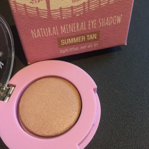 Dusty Girls Natural Mineral Eye Shadow 2g -  Summer Tan