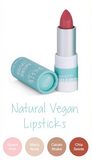 Dusty Girls Natural Vegan Lipstick 5g - Chia Seeds/ Guava Pink/ Maca Nude