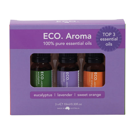 Eco Essential Oils - Trio Best Selling Set