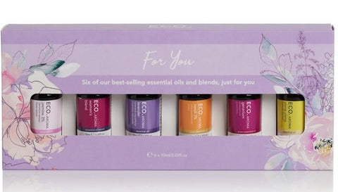 "Eco Essential Oils - ""Just For You"" 6 blends Set - On Sale! 44% Off!!"