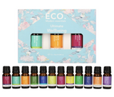 Eco Essential Oils - Ultimate Wellbeing 12 blends Set - On Sale! 45% off!!