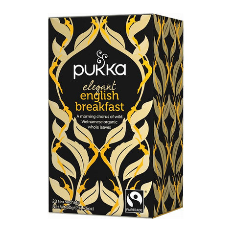 Pukka Tea Elegant English Breakfast 20 Bags