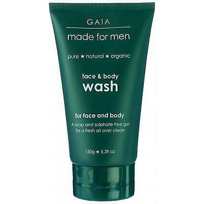 Gaia Men Face & Body Wash 150g