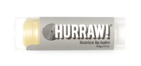 HURRAW Raw Vegan Lip Balm - Licorice 4.3g