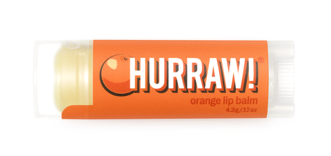 HURRAW Raw Vegan Lip Balm - Orange 4.3g