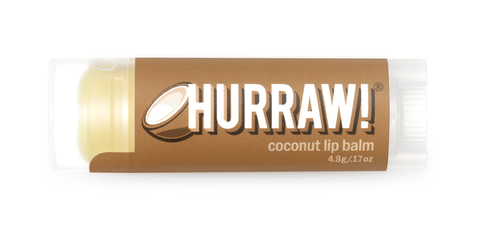 HURRAW Raw Vegan Lip Balm - Coconut 4.3g