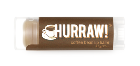 HURRAW Raw Vegan Lip Balm - Coffee 4.3g
