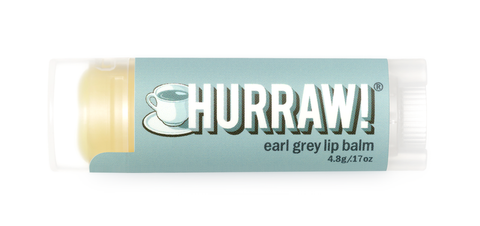 HURRAW Raw Vegan Lip Balm - Earl Grey 4.3g