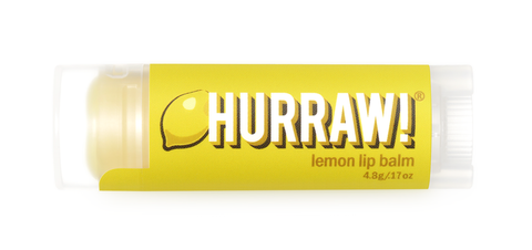 HURRAW Raw Vegan Lip Balm - Lemon 4.3g