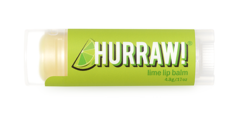 HURRAW Raw Vegan Lip Balm - Lime 4.3g