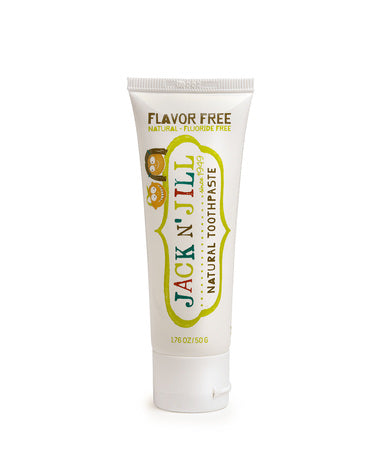 Jack N Jill Fluoride Free Natural Toothpaste - Flavor Free 50g