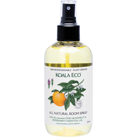 KOALA ECO Natural Room Spray - Australian Pink Grapefruit & Peppermint