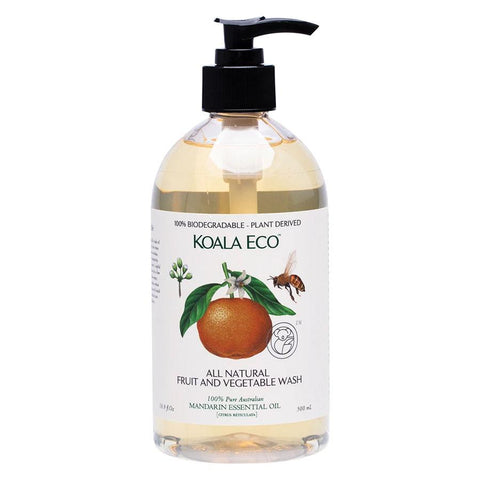 KOALA ECO Fruit & Vegetable All Natural Wash 500ml - Safe and Plant Based