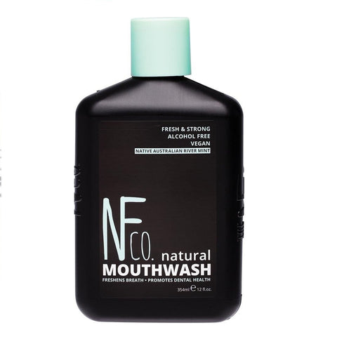 Alcohol Free Native Australian River Mint Natural Mouthwash - 354ml