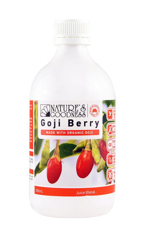 Nature's Goodness Goji Berry Juice Blend 500ml