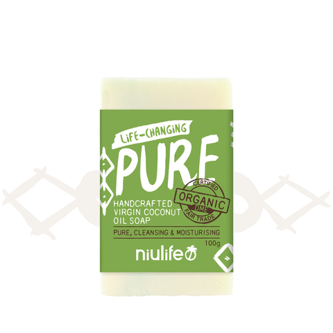 Niulife Coconut Oil Soap Assorted 100g  x 2