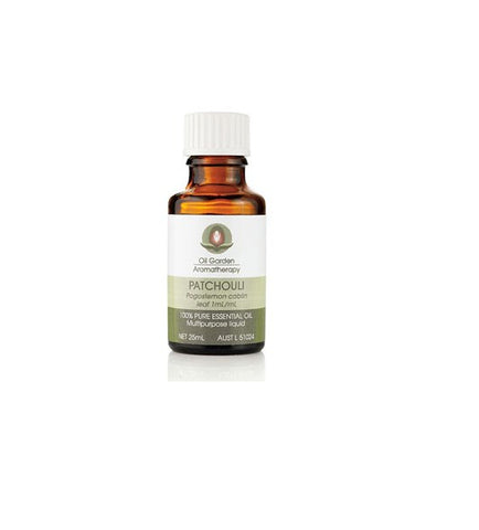 Oil Garden- PATCHOULI ESSENTIAL OIL 25ml