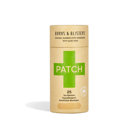 PATCH Aloe Vera Bandages - Burns & Blisters 25 Strips
