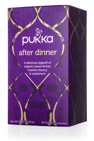 PUKKA Fair Trade Organic Tea - After Dinner