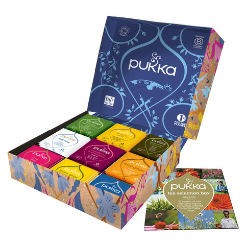 PUKKA Tea Selection Gift Box - Perfect Gift for your loved one
