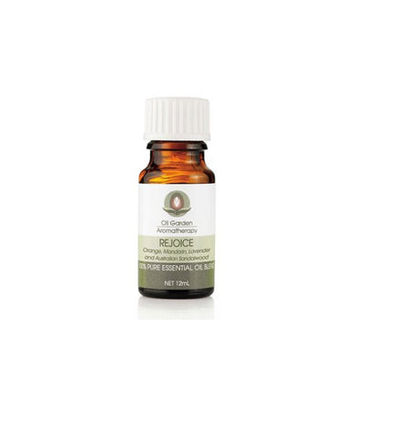 Oil Garden- REJOICE PURE ESSENTIAL OIL BLEND 12ml