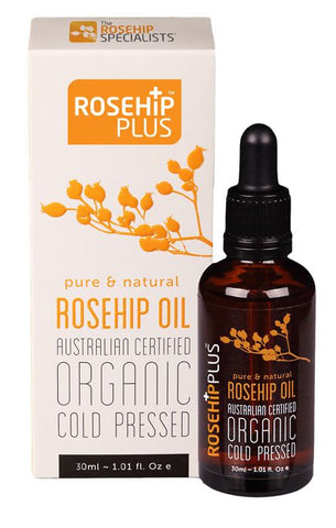 Australian Certified Organic Cold Pressed ROSEHIP OIL - 30ml