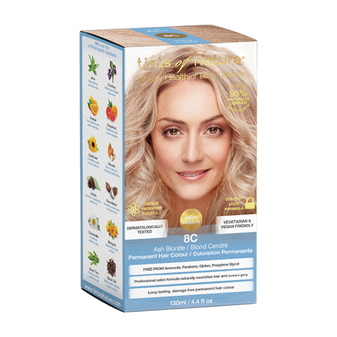 Tints of Nature Permanent Hair Colour - 8C Ash Blonde