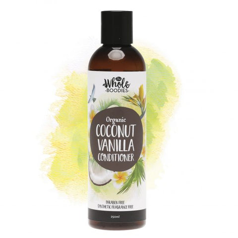 The Whole Boodies Hair Conditioner - Coconut Vanilla 250ml