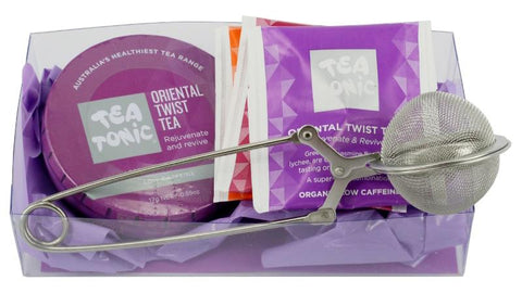 TEA TONIC Organic Tea Pack - ORIENTAL TWIST