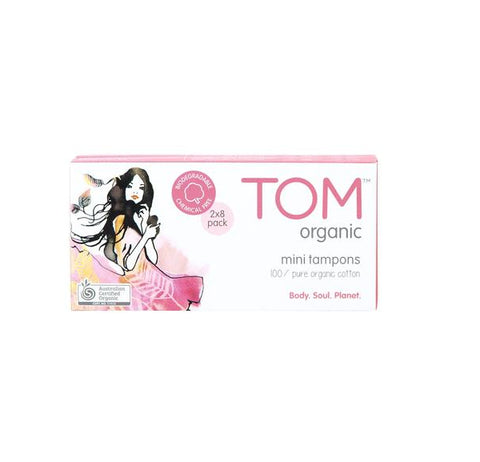 Tom Organic Mini Tampons Pack 16's