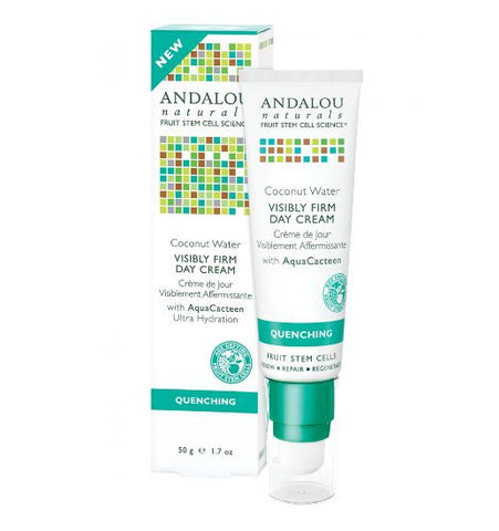 Andalou Naturals Quenching Coconut Water Visibly Firm Day Cream 50g