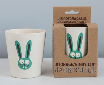 Jack N Jill Rinse Storage Biodegradable Cup Bunny