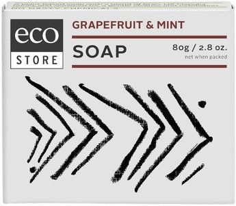 Eco Store Boxed Grapefruit & Mint Soap 80g