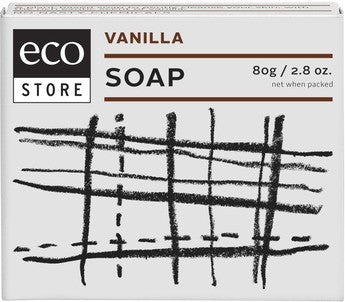 Eco Store Boxed Vanilla Soap 80g
