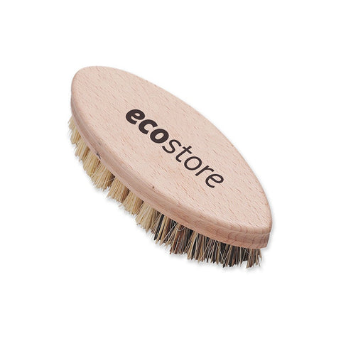 ECOSTORE Scrubbing Brush - Vegetable/ Dish Scrubber (Green Kitchen Essential)