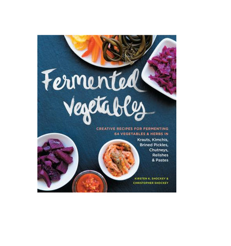 "Book Title: ""Fermented Vegetables"" - Guide to make own fermented food"