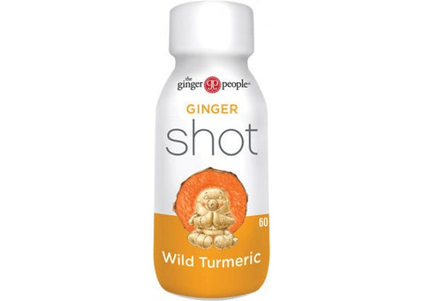 THE GINGER PEOPLE Ginger Shot Wild Turmeric 60ml