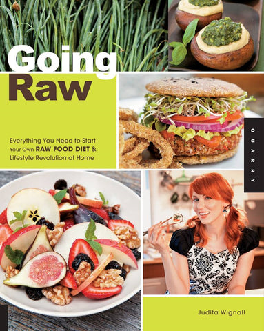 "Book Title: ""Going Raw"" - Benefits and recipes of raw food diet"